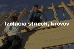 izolacia striech a krovov